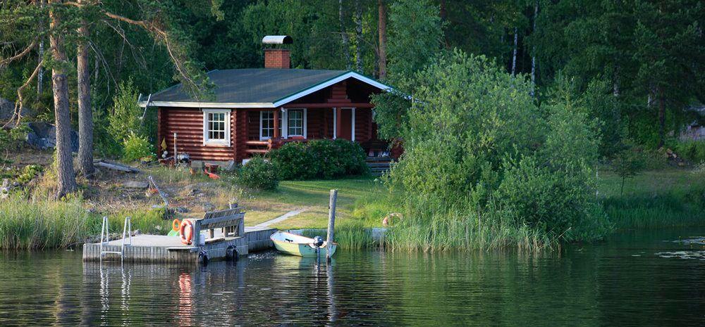 рыбалка на озере отдых в коттеджах