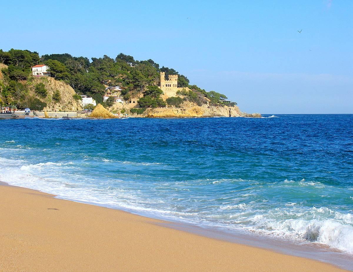 Фото испании море пляж